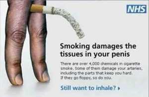 British anti-smoking ad
